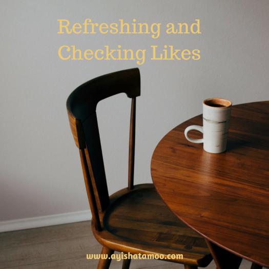 Refreshing and Checking Likes